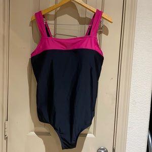 Catalina one piece swim wear.